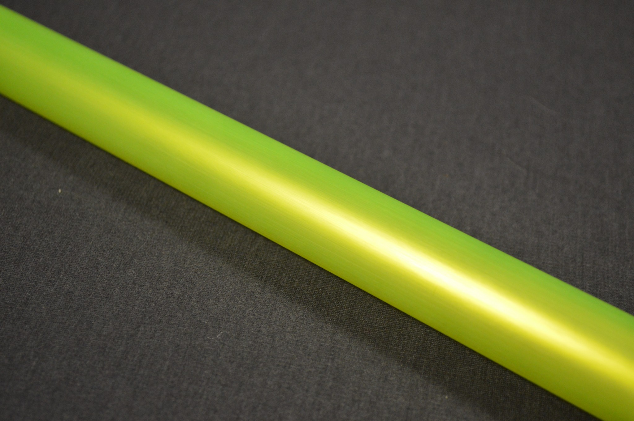 A closer look at the electric yellow Photon Blade