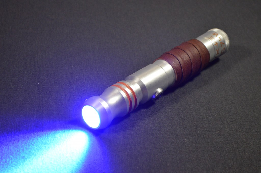 arms of ilum s custom ultrasabers initiate le v4 in guardian blue